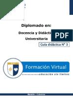 Guia Didactica 3-Docencia Universitaria