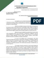 Emergencia Economica Nota Presidente Fernandez