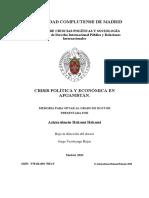 CRISIS POLÍTICA Y ECONÓMICA EN AFGANISTÁN