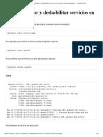 Cómo habilitar o deshabilitar servicios en Ubuntu Systemd_Upstart