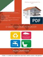 Saneamento Básico, Resíduos Sólidos e Resíduos de Construção Civil