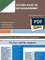 exposicion 10 reglas de oro