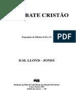 D. M. Lloyd-Jones - Efesios 06-10_O Combate Cristão