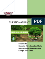 informe numero 2 ambiente