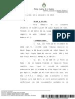 El fallo de la excarcelación de Julio De Vido
