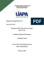 Tarea No.6 Psicología Educativa II-13-7337
