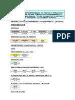 MEMORIA CALCULO RESERVORIO ELEVADO REP-01B  V=3500 m3 - PROYECTO PIURA - 17-10-2019