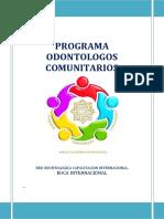 2017-Programa Odontologos Comunitarios