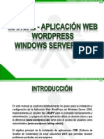 MANUAL_APLICACIÓN_WEB_WORDPRESS_WINDOWS_SERVER_2008_LARED38110