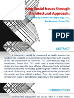Architectural Planning 2
