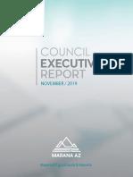 Council Executive Report - Town of Marana Nov. 2019