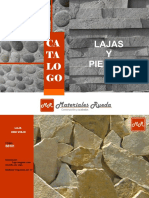 Catálogo de Lajas y Piedras 201522