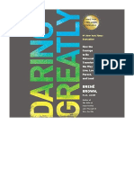 [2018] Daring Greatly by Brené Brown |  How the Courage to Be Vulnerable Transforms the Way We Live, Love, Parent, and Lead | Penguin Audio