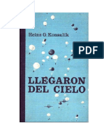 Llegaron Del Cielo - Konsalik Heinz