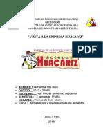 TRABAJO ENCARGADO DE REFRIGERACION CAMARA DE REFRIGERACION TERMINADO Y ENTREGADO