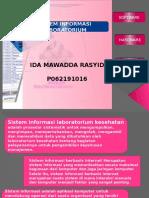 Sistem Informasi Lab (Ida Mawadda p062191016)