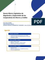 Oscar Basso - Nuevo Marco Legislativo de Regulacion y Supervision de Las Cooperativas de Ahorro y Credito