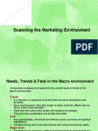 Scanning Mkting Environment