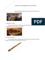 10 PROVINSI DENGAN LAGU TRASIDIONAL DAN ALAT MUSIK.docx