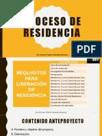 PROCESO DE RESIDENCIA TESSFP 2019