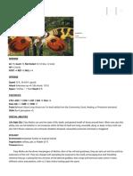 D20 - Fairy Moth (Familiar) [version 3.5_ Pathfinder]