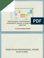 4. Penyusunan Profesional Grade & Corporate Grade