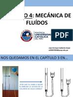 Capítulo 4 - MECÁNICA DE FLUÍDOS