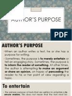Authors-Purpose