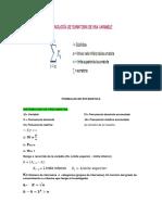 Estadistica FORMULAS 1