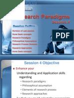 BRM 4 Res. Philosophies Paradigms Slides