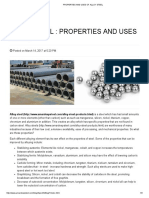 Uses of Alloy Steel