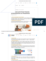 9 Consejos Para Hacer Buenas Presentaciones en PowerPoint
