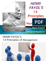 3. 14 Principles of Management