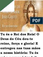 MISSA DOMINGO DIA 24 DE NOVEMBRO