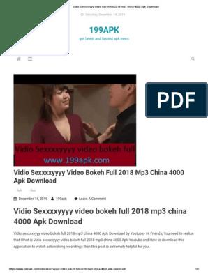 Vidio Sexxxxyyyy Video Bokeh Full 2018 Mp Apk Download