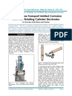 Study of Mass Transport Limited Corrosion