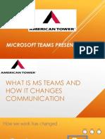 Microsoft Teams Presentation