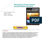 Power Electronics Circuits