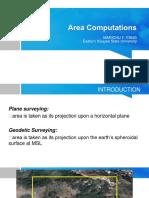 Area computation