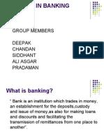 Banking Setor Reforms