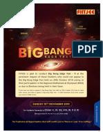 Big Bang Edge Test information Booklet