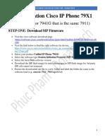 Configuration-Cisco-IP-Phone-79X1G