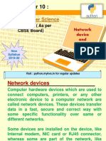Network device and functions