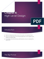 Chapter 4 - High Level Design