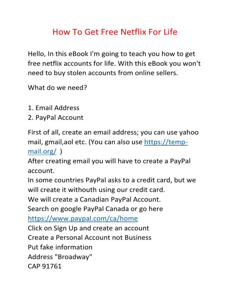 Paypal spotify for fake account Fake Microsoft