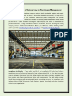 The Importance of Outsourcing to Warehouse Management