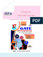 GATE Civil Engineering Past Questions Mechanics & Structural Analysis