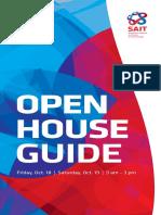SAIT Open House Guide Oct 2019