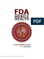 mHealth News Report FDA Regulation of Mobile Health