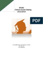 SFUSD course catalog 13-14 v2
